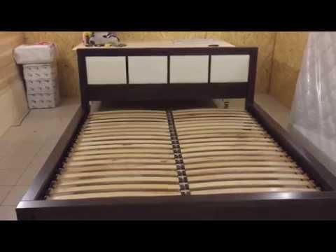 Кровать своими руками. Крепление подушек к изголовью