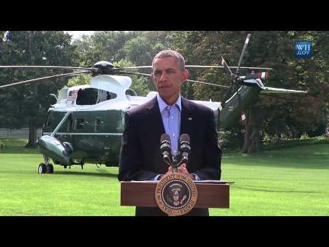 "Obama: Iraq Airstrikes Could Be ""Long Term"" - Full News Conference"