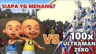 UPIN & IPIN VS 1000 ULTRAMAN ZERO - MENGERIKAANNN!!!!