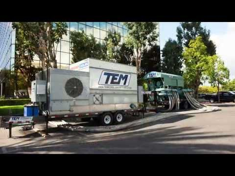 Temporary Emergency Air Conditioning and Cooling Industrial & Commercial
