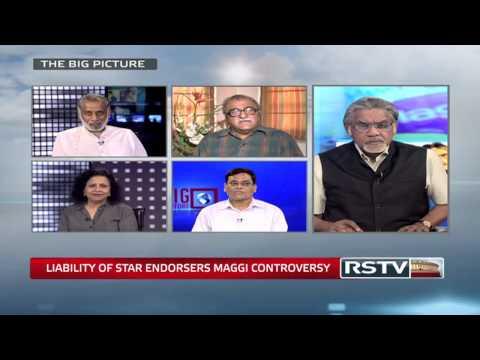 The Big Picture - Maggi Controversy: Liability of star endorsers