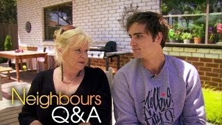 Neighbours Q&A: Colette Mann (Sheila) and Chris Milligan (Kyle) Part 2