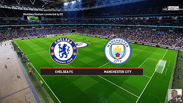 CHELSEA FC VS MANCHESTER CITY | PES 2020 GAMEPLAY PC