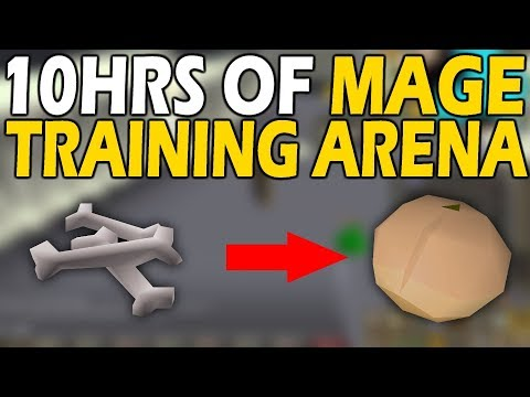 10HRS Of The MAGE TRAINING ARENA | How Much Infinity Can You Get