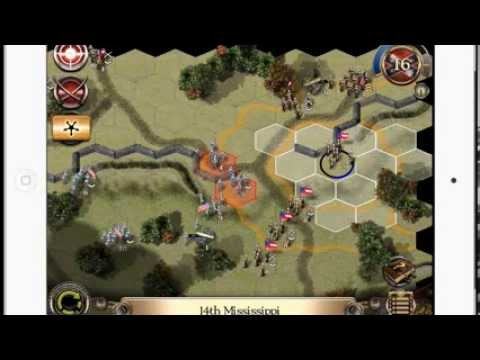 Civil War II 1862 iOS Games iPad