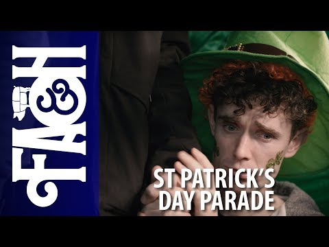 St Patricks Day Parade - Foil Arms and Hog