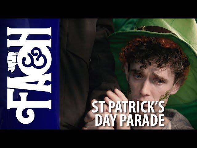 St Patricks Day Parade - Foil Arms and Hog