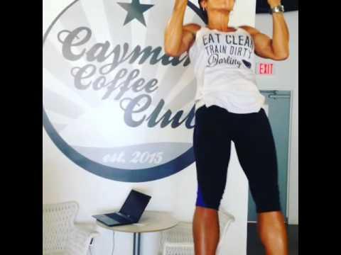 Cayman coffee club super fit girl pull ups islands