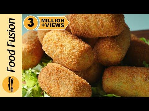Chicken Potato Croquettes Recipe By Food Fusion