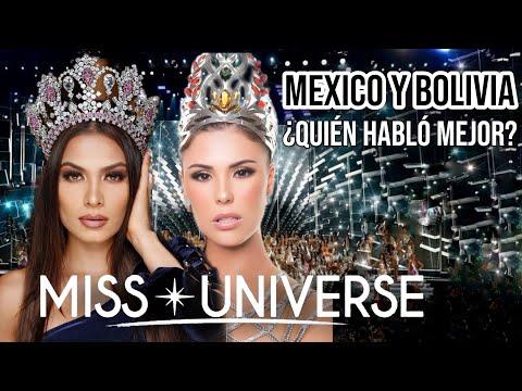 MISS UNIVERSO tiene en MEXICO y BOLIVIA dos grandes candidatas