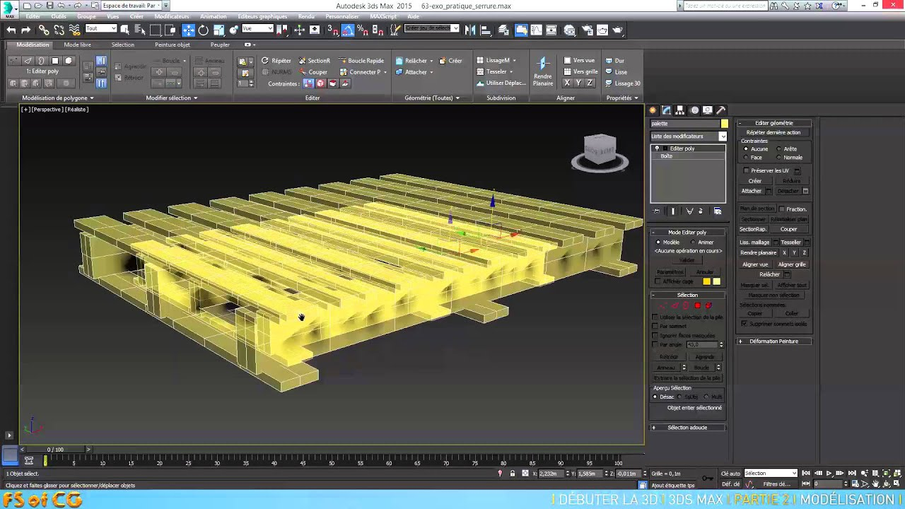 tuto d buter la 3d avec 3ds max partie 2 la mod lisation ForTuto Architecte 3d