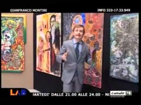 OPERE ARTISTA GIANFRANCO MONTINI JFKMG
