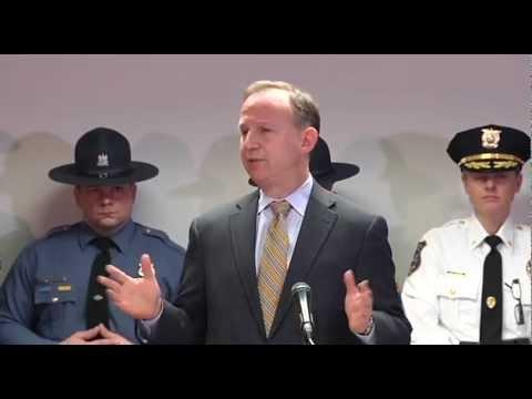 Gov. Markell, Lt. Gov. Denn and AG Biden Announce Responsible Gun Safety Legislation