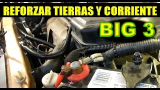 Video Como mejorar  tierras y corriente principal del auto (big 3) download MP3, 3GP, MP4, WEBM, AVI, FLV April 2018