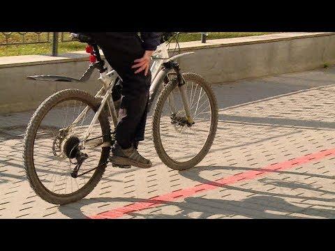 В России введут экзамены для велосипедистов