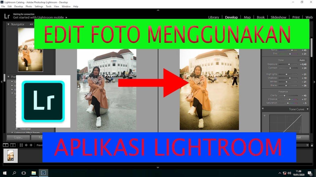 CARA MENGEDIT FOTO DENGAN LIGHROOM SEPERTI FOTO INSTAGRAM ...