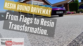 How to Install a resin driveway, path and Patio Start to finish full rip out, by Resin Install.