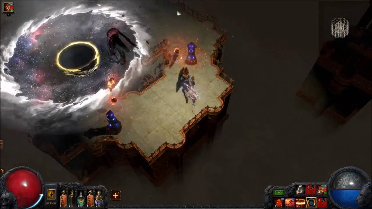 POE 2 4 Level 76 Tier 9 Temple Map Boss