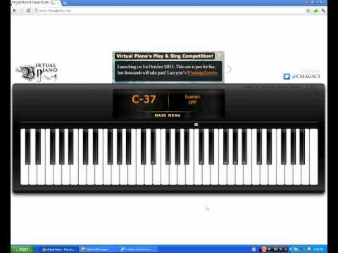 Love Story Song on Virtual Piano by LiLP4uL