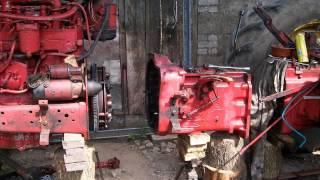 Remont MTZ (cz.2) świeca płomieniowa, reduktor i siłownik podnośnika. MTZ 550 / 82