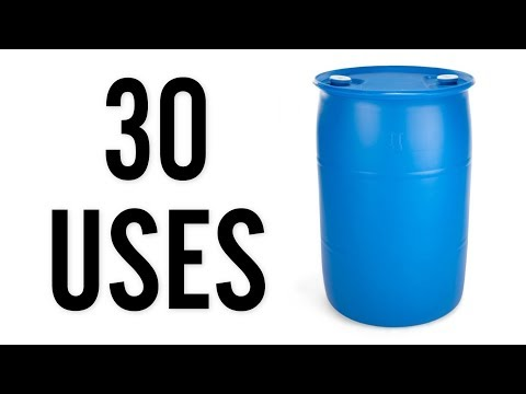 30 Amazing Uses for Plastic 55 Gallon Drums