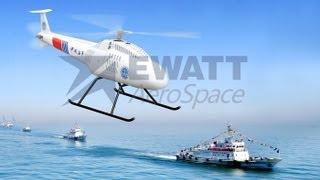 Ewatt Aerospace and Fetters AeroSpace EWZ-1, EWZ-2 and SVU-200 Autonomous UAV Helicopters
