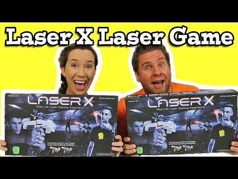 Laser X High-Tech Game Of Tag