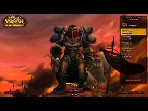 World Of Warcraft: [Dansk] Serie | Første Kig På Mine Characters |