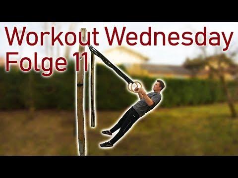 Workout Wednesday Folge 11 - Übungen für den Schweizer, Ringe und Reck