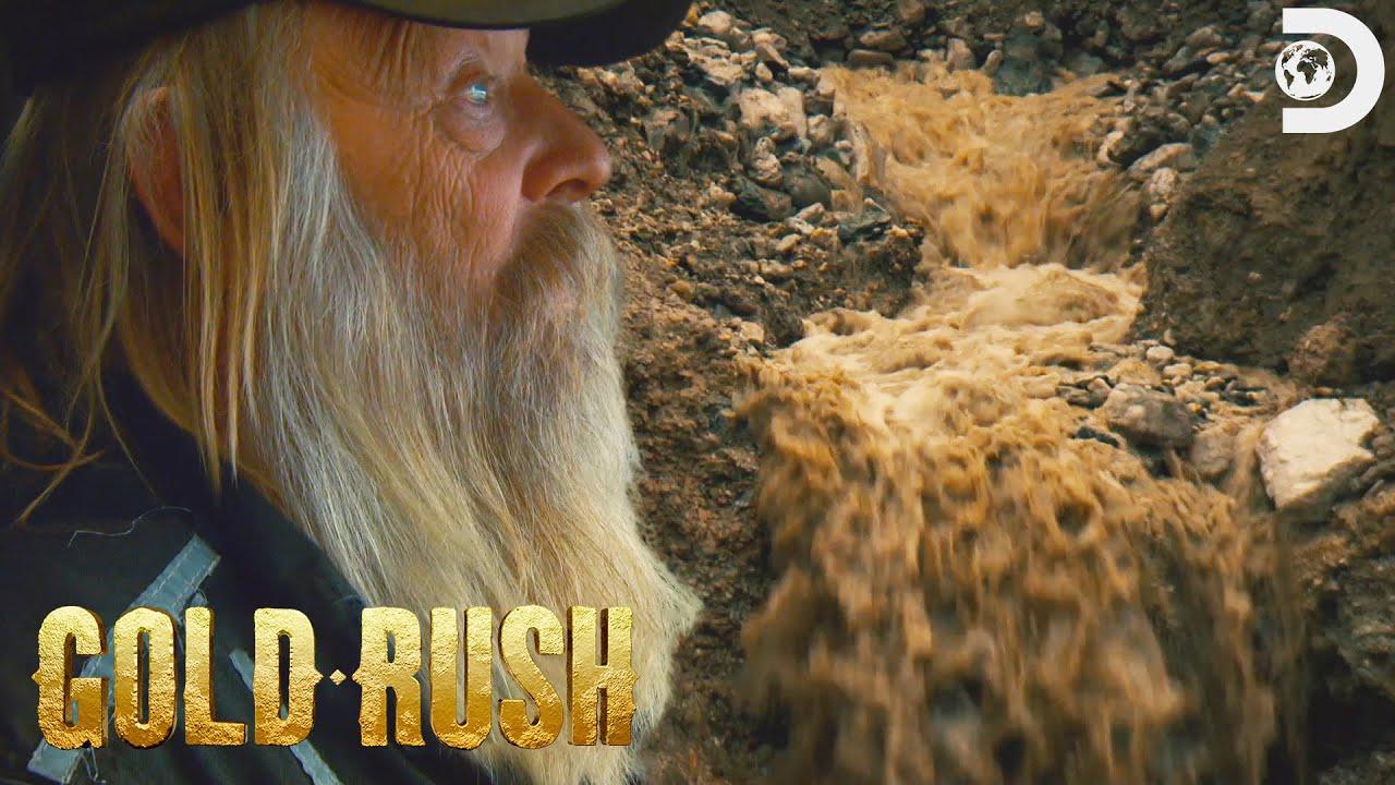 Tony Floods the Mega Cut! | Gold Rush