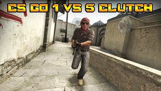 CS:GO - 1vs5 Clutch ACE | Silver Clutch is real