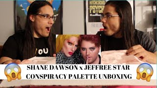 Jeffree Star x Shane Dawson Conspiracy Collection Unboxing! // TwinWorld