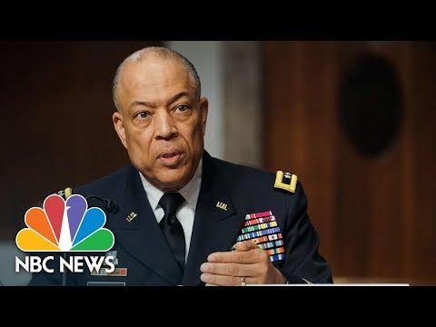 D.C. National Guard Commander Discusses 'Unusual' Delay For Approval To Help During Capitol Riot - NBC News