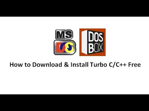How To Download And Install Turbo C, C++ Compiler Free In Any Window 7/8/10