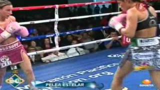 "Ana Maria ""Guerrera Azteca"" Torres Vs Hollie ""Sexy"" Dunaway Round 4"