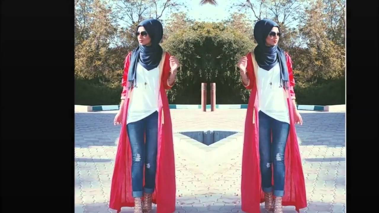 820020d33 Casual Hijab fashion style 2016 ملابس المحجبات - YouTube