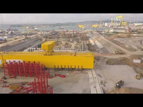 """Строительство док-камеры ССК """"Звезда"""" в г. Большой Камень."""