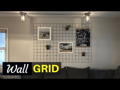 DIY Multi-Function Wall Grid