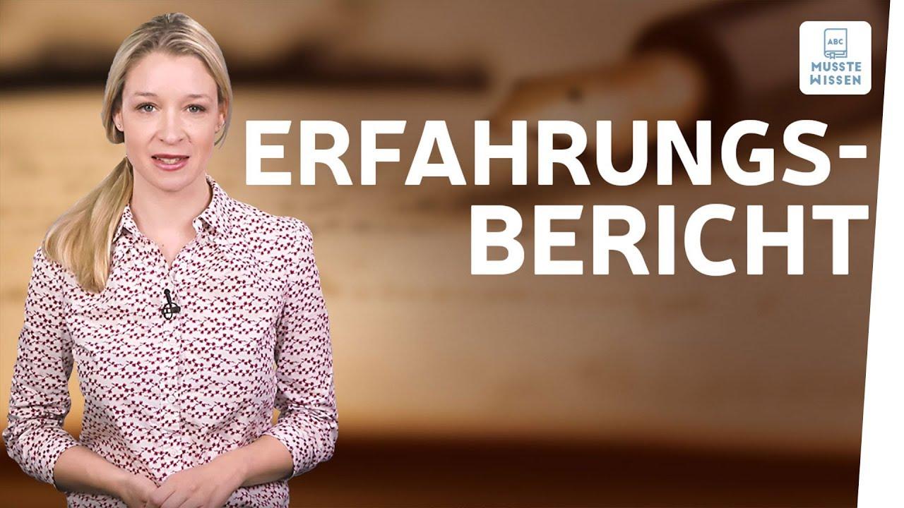 Erfahrungsbericht Schreiben I Musstewissen Deutsch Youtube