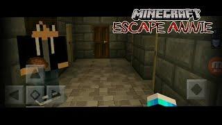 Прохождение хоррор карты Escape Annie в майнкрафте (первые визги!)