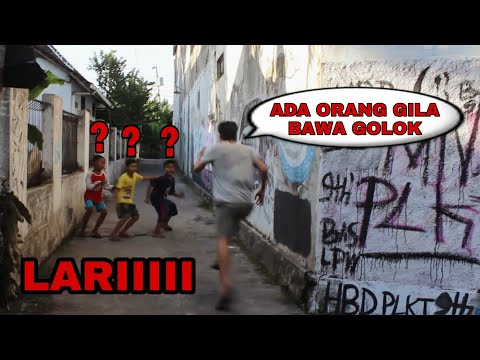 PRANK LARI KOCAR KACIR, NGAKAK PARAH WKWK | Prank Indonesia - RIZAL PARDEDE.