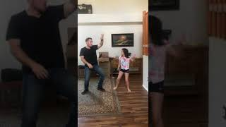 "Daddy Daughter Challenge with ""The Git Up"" Video"