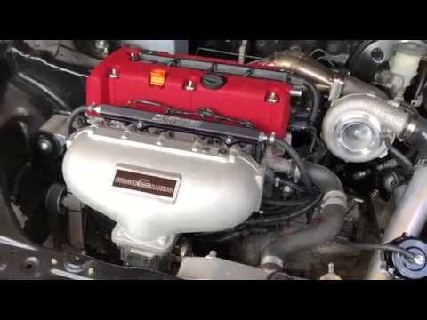 My k24 turbo starts!!