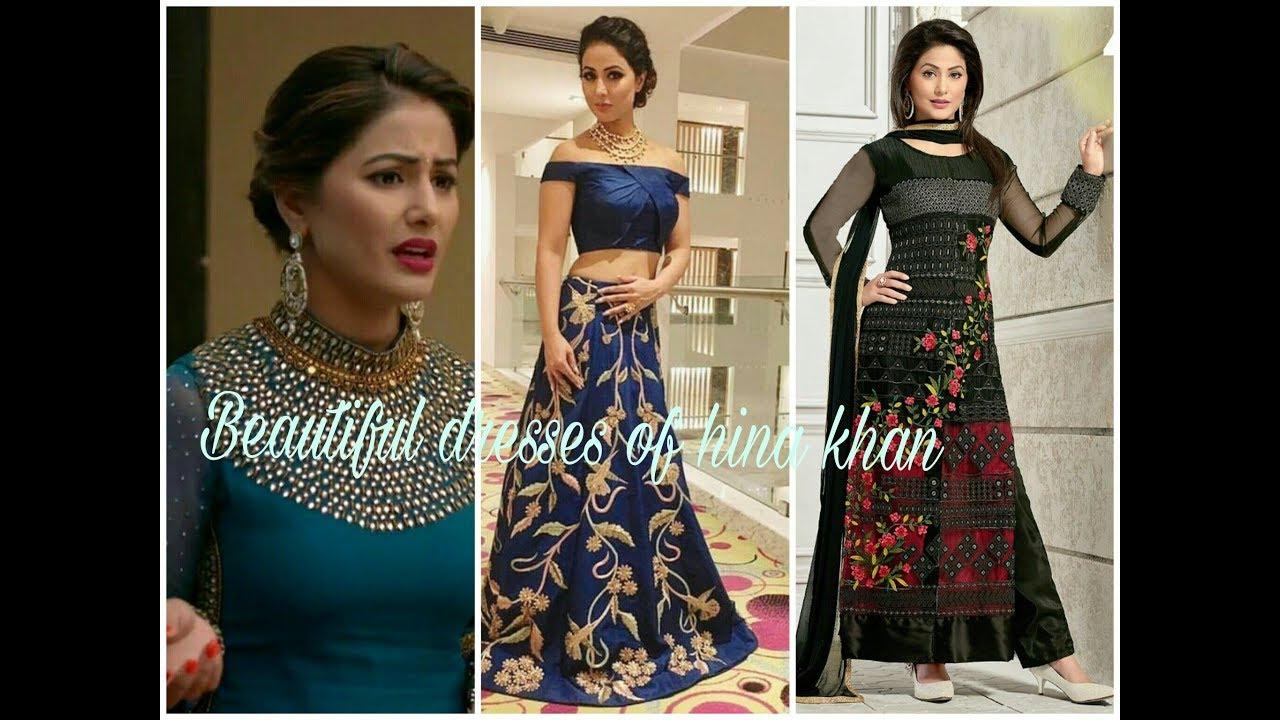 Designer Dresses Of Hina Khan Party Wear Dresses Designer