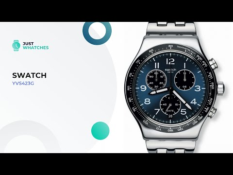 Slick Swatch YVS423G Men Watches Prices, Detailed 360°, Full Specs