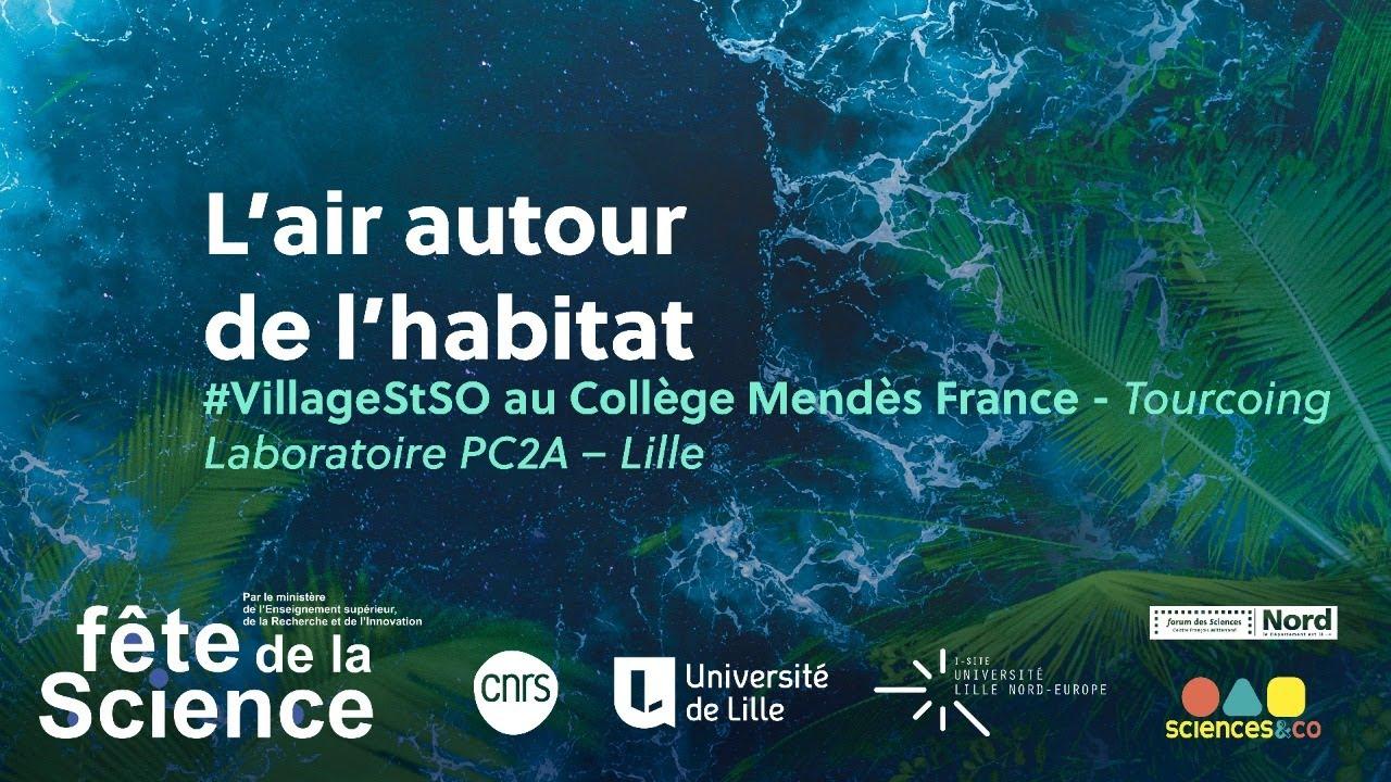 Youtube Video: #VillageSTSO - Fête de la science 2020 - 8 Octobre