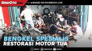 Video Berkunjung Ke Bengkel Garage 42 Spesialis Restorasi Motor Tua download MP3, 3GP, MP4, WEBM, AVI, FLV Agustus 2018