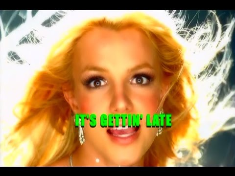 Britney Spears - Toxic - Lyrics On Screen And Vocals