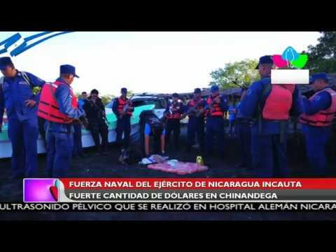 Fuerza Naval del Ejército de Nicaragua incauta fuerte cantidad de dólares en Chinandega
