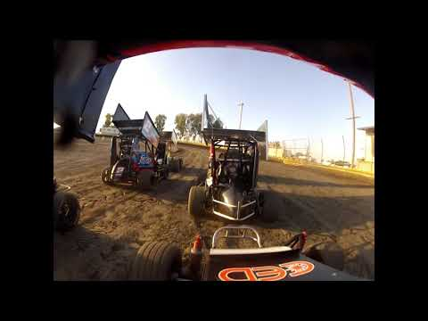 Lemoore  Raceway 8/24/19 Jr Sprint Heat Ty GoPro